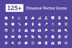 125+ Finance Vector Icons