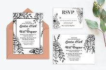 Detailed Floral Wedding Suite