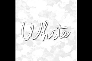vector seamless pattern white