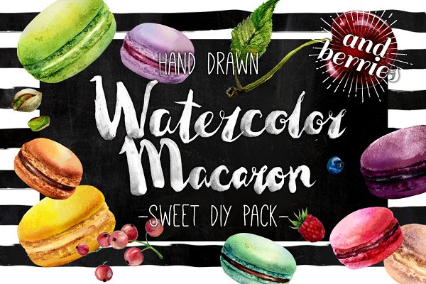 Delicious Watercolor DIY