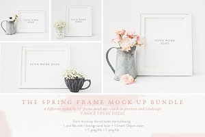 SPRING FRAME MOCK UP BUNDLE