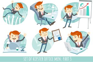 Office men set. Part 3