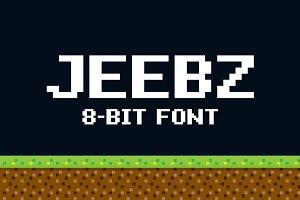 Jeebz: 8-bit font