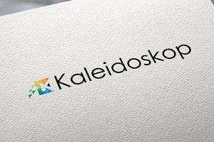 Letter K Pixels | Logo Template