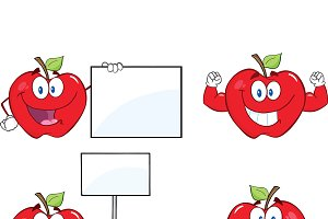Apples Characters Collection - 8