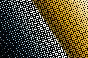 Abstract background dotted with color gradients