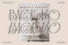 BAGISKO Modern Serif Font by  in Fonts