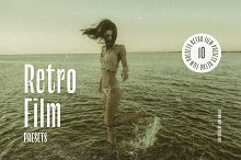 Retro Film: Lightroom Presets by  in Add-Ons