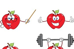 Apples Characters Collection - 10