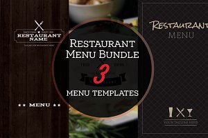 Restaurant Menu Bundle