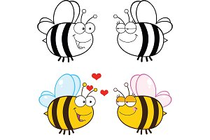 Cute Bee Collection - 6