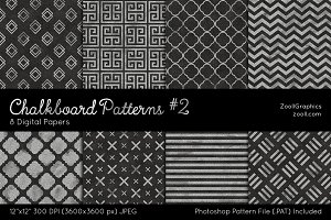 Chalkboard Digital Papers #2