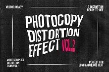 Photocopy Distortion Effect - vol. 2