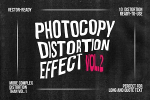 Photocopy Distortion Effect - vol. 2