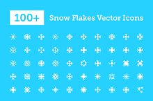 100+ Snowflakes Vector Icons