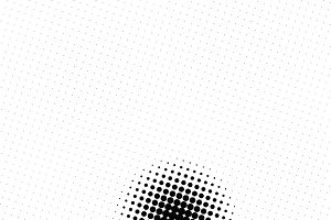 Abstract black spots