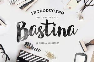 Bastina Hand Written Font