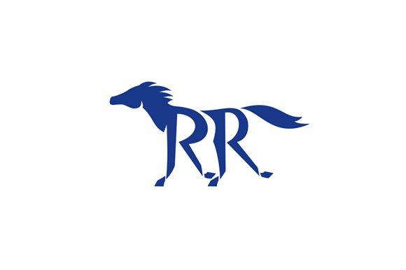 Blue Horse Silhoutte RR Legs Running