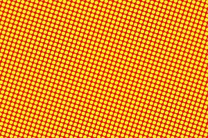 Abstract background of yellow dots on red background
