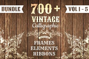 700+ Vintage Bundle (All 5 Volumes)