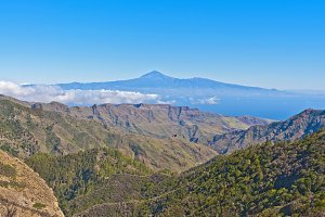 landscapes of the Canary Islands