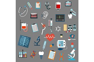 Medical diagnostics and equipment