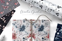 Festive Christmas Patterns by  in Graphics