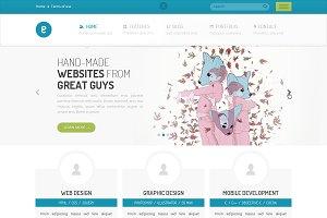 Nameless - Creative HTML5 Template