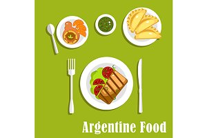 Traditional argentine cuisine