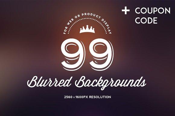99 Premium Blurred Backgrounds