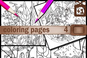 Coloring Page, Adult Coloring Page