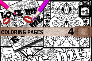 Coloring pages for kids and adults.