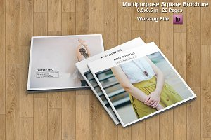 Multipurpose Square Brochure-V459