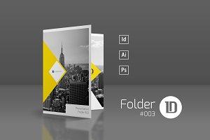 Presentation Folder Template 003