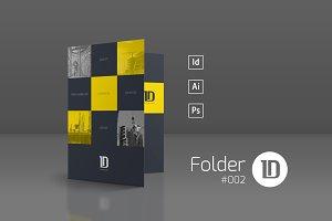Presentation Folder Template 002