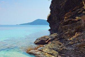 Volcanic Island Rock