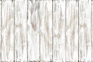 White colored wooden background