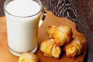Milk and Croissant Cookies