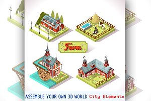 Farm Tiles City Map