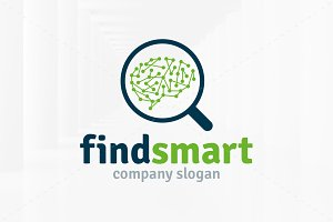 Find Smart Logo Template