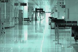 Corridor in Airport