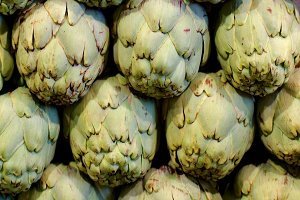 Artichokes Background