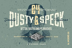 20 Dusty and Speck Textures - VES04