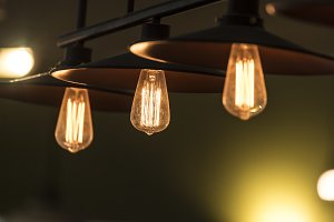 Retro light bulb