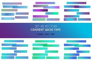 Gradient Washi Tape