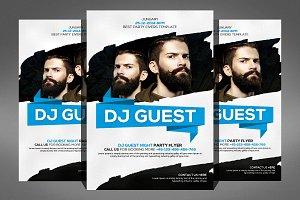 Guest Dj Party Flyer Psd Templates