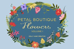 Petal Boutique Flowers Vol. 1