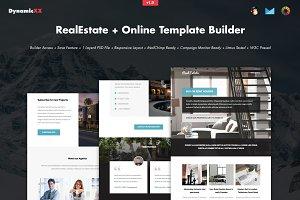 RealEstate + Online Template Builder