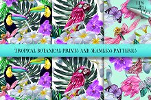 Tropical prints and patterns