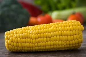 Corn and other vegetables